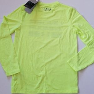 Under Armour Shirts & Tops - NWT Boy Under Armour Color Safety In Mind